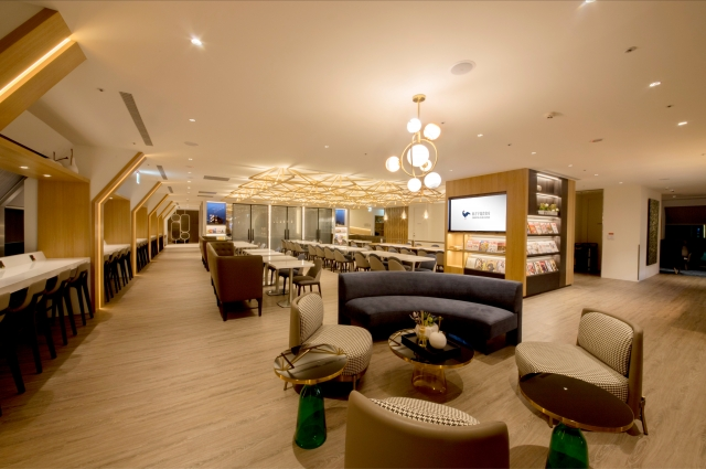 Oriental Club Lounge Grand Opening in Taiwan Taoyuan International Airport